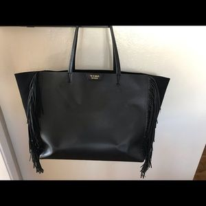 Victoria Secret Large Leather Tote